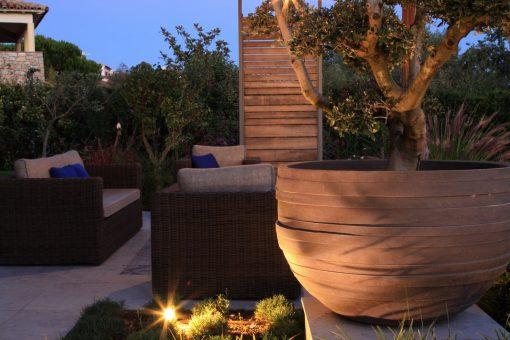 Jardins sophistiqués d'une bastide aixoise